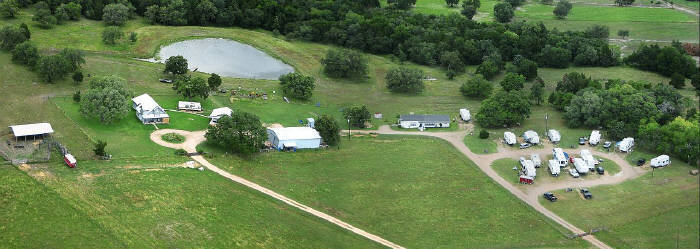 Aeriel Image of S and H RV Park